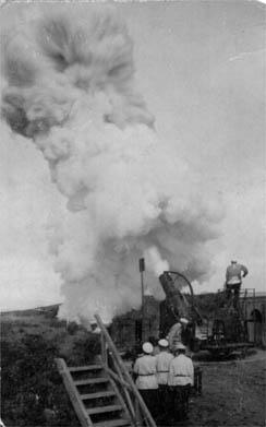 Выстрел Тигровой батареи. 1904 год