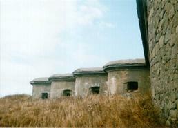 Форт Графа Муравьева-Амурского. Промежуточный полукапонир